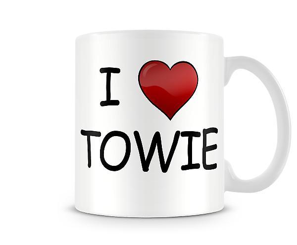Amo la tazza stampata Towie