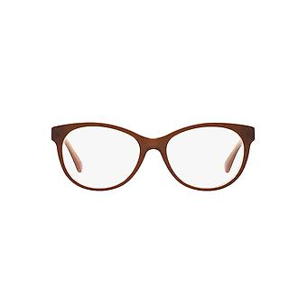 Ralph By Ralph Lauren RA7094 Glasses In Shiny Brown On Caramel