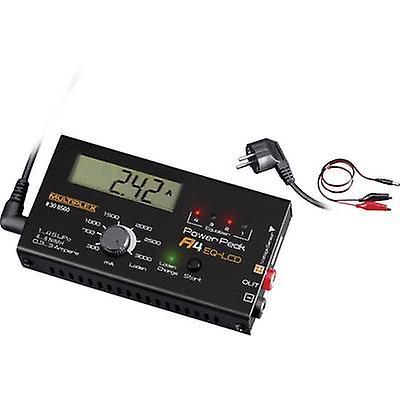 Chargeur de batterie modèle échelle 12 V 3 A Power Peak A4 EQ-LCD NiCd, NiMH, polymère, LiFePO