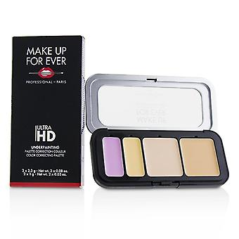 Make Up For Ever Ultra HD Underpainting Color Correcting Palette - # Very Light - 6.6g/0.23oz