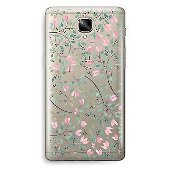 OnePlus 3 Transparent Case (Soft) - Dainty flowers