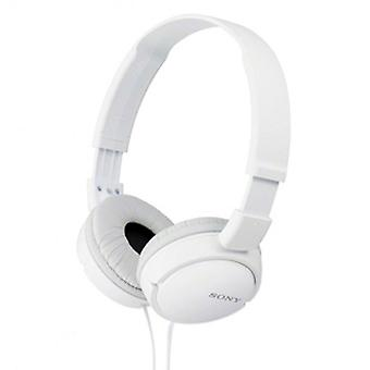 Sony MDR-ZX110 Over Ear Sound Monitoring Headphone/Earphone - White