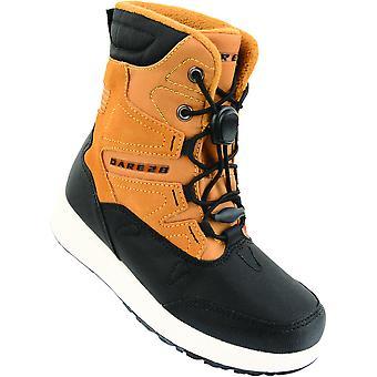 Dare 2b Boys Enzo Jnr Snowproof Hardwearing Suede Snow Boots