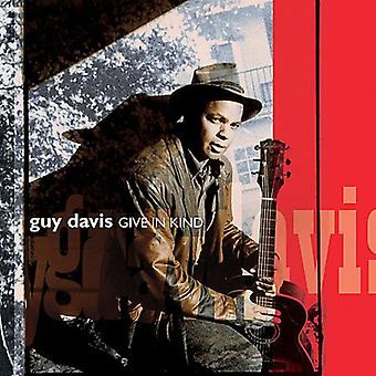 Guy Davis - Give in Kind [CD] USA import