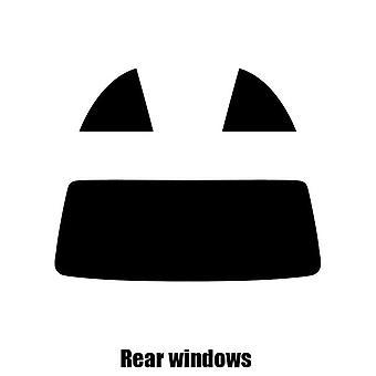 Pre cut Fenster Farbton - BMW 3er Cabrio - 2000 bis 2006 - hinten windows