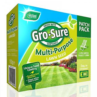 Westland Multi Purpose Lawn Seed Patch Pack 150g~