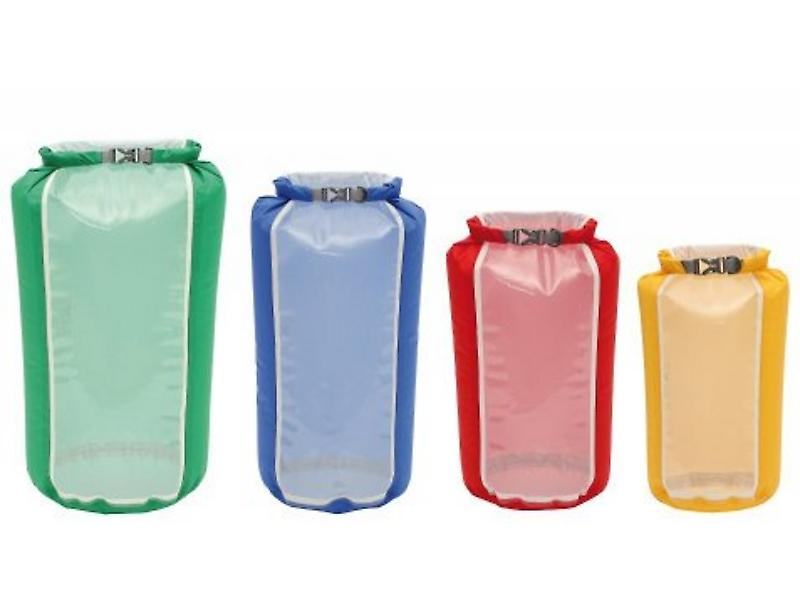 Exped Fold Drybag Clear Sight (Set of 4 Sizes/1 of each Colour)