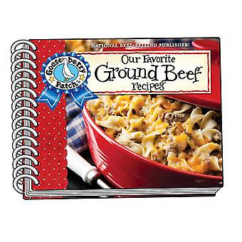 Our Favorite Ground Beef Recipes - with Photo Cover by Gooseberry Pat