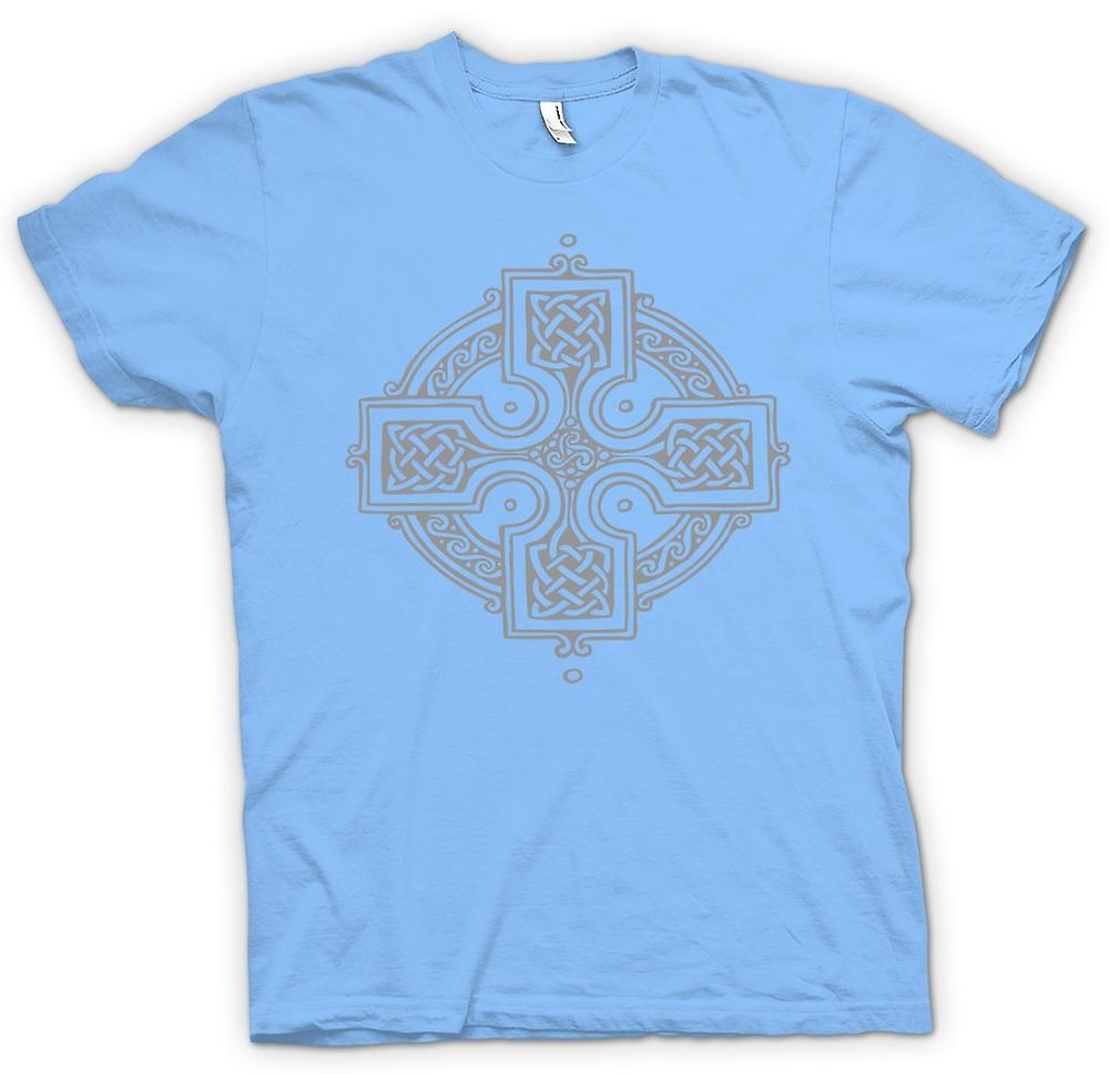 Mens T-shirt - Celtic Cross 2 - Tattoo-Design