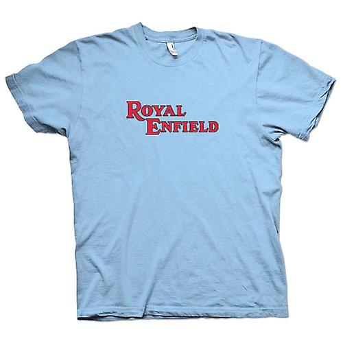 Moto Classic mens t-shirt - logotipo de Royal Enfield-
