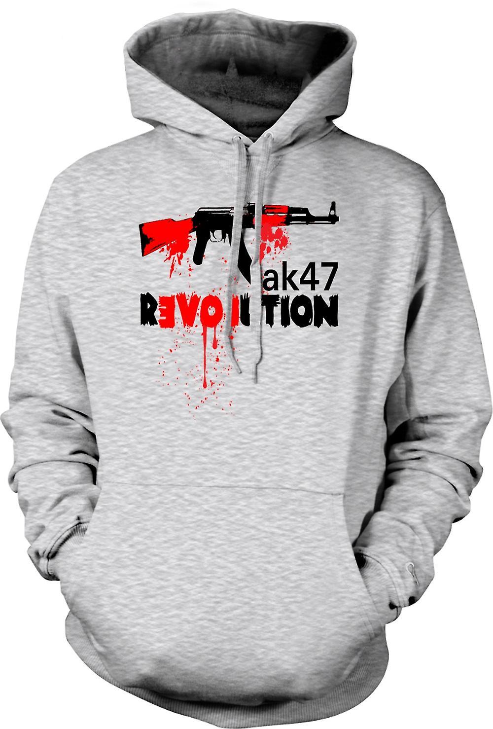 Mens Hoodie - AK47-Revolution