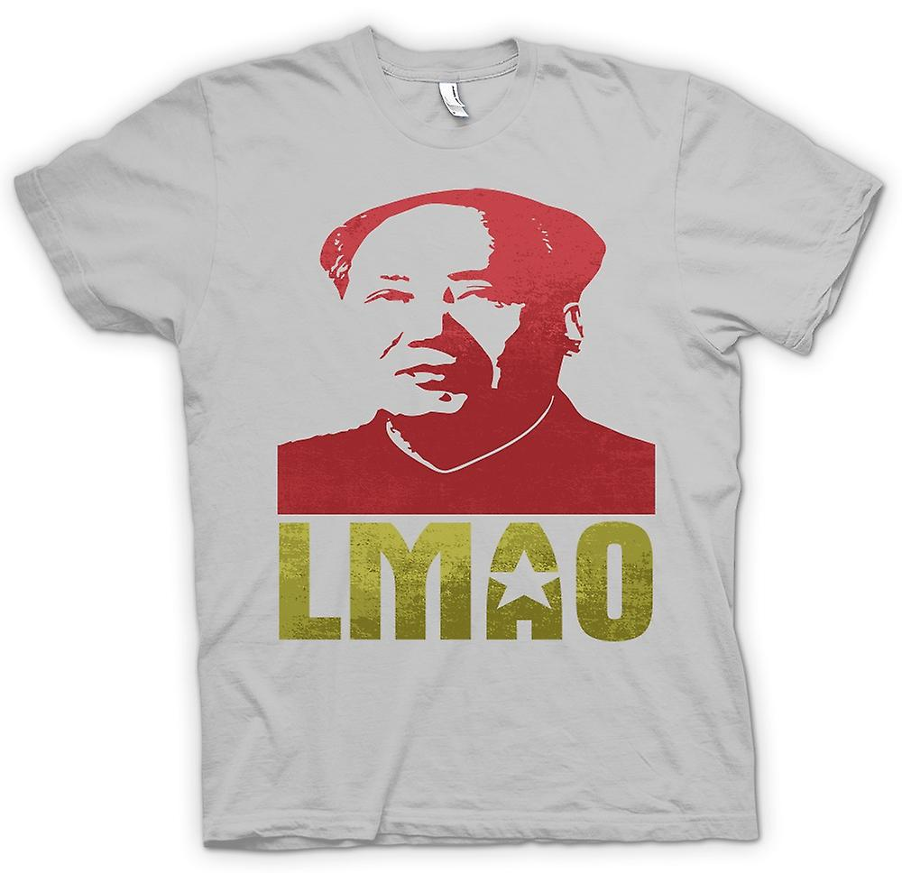 Mens T-shirt - LMAO Vorsitzenden Mao - lustig