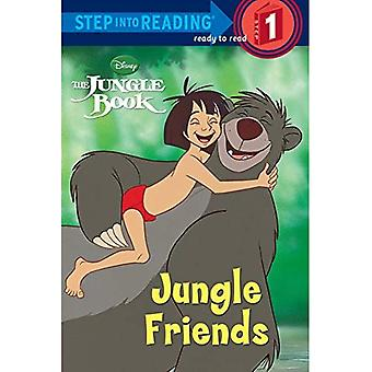 Jungle Friends (Disney Jungle Book) (Step Into Reading - Level 1 - Quality)