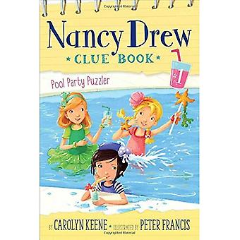 Pool Party Puzzler (Nancy Drew Clue Book)