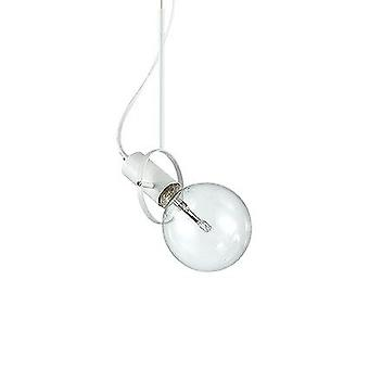 Ideal Lux - Radio White Single Light Pendant IDL122847