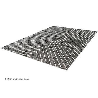 Swing Lines Silver Rug