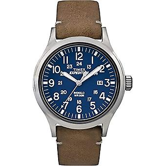 Timex Analog quartz men's watch with leather TW4B018009J