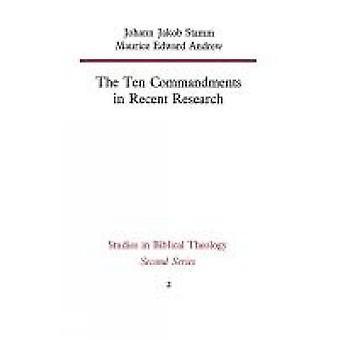 De tio budorden i senare forskning av Stamm & Johann Jakob