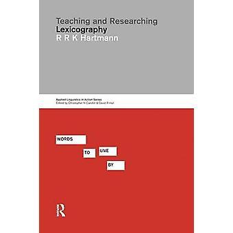 التدريس والبحث معجمية حسب هارتمان رينهارد آند ر. ك.
