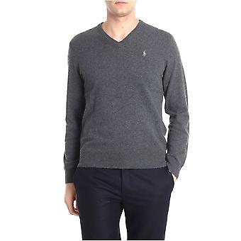 Ralph Lauren Grey Wool Sweater