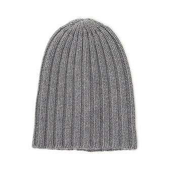Laneus Grey Cashmere Hat