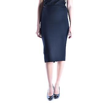 Prada Black Wool Skirt
