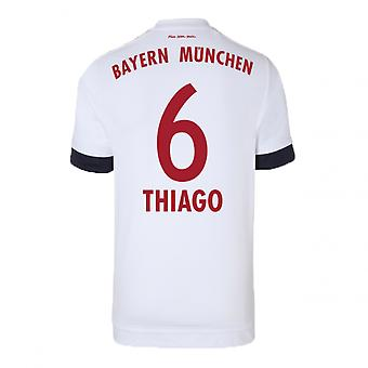 2015-16 Bayern Munich Away Shirt (Thiago 6) - Kids