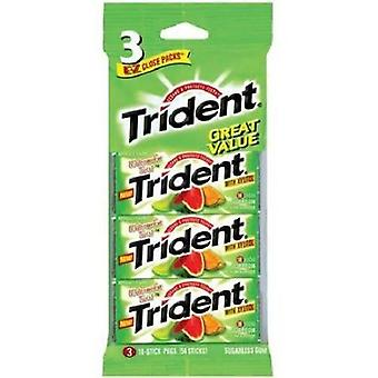 Trident Watermelon Twist Sugarless Gum (3-Pack), 14-Sticks Per Pack