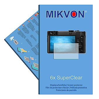 Panasonic Lumix DMC-TZ80 screen protector- Mikvon films SuperClear