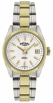 Rotary Womens' Havana Tone Stainless Steel Bracelet LB02661/11 Watch