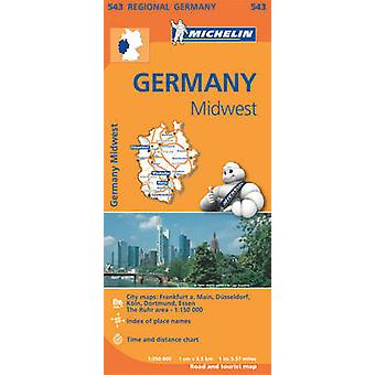 Germany Midwest - 9782067183605 Book