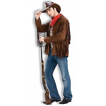 Buffalo Bill Cowboy Jacket Hippie Hippy 70s Men Costume
