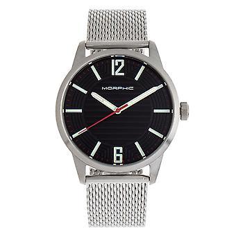 Morphic M77 Series Bracelet Watch - Silver