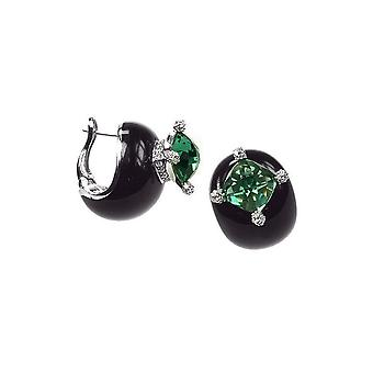 Belle Etoile Black Corona Earrings 03020910503
