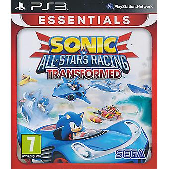 Sonic & All-Stars Racing Transformed Essentials - Playstation 3