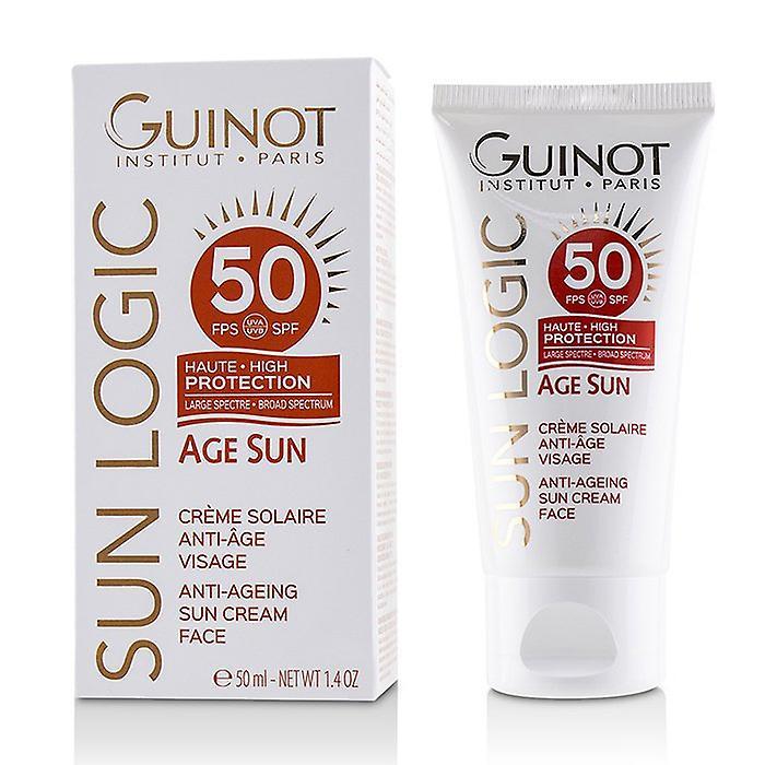 Guinot Sun Logic Age Sun Anti-Ageing Sun Cream For Face SPF 50 - 50ml/1.4oz