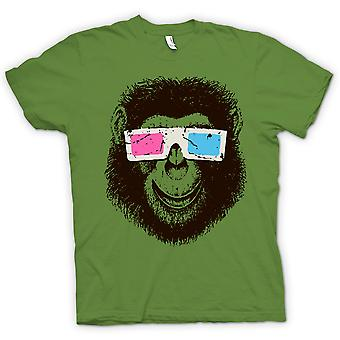 Kids T-shirt - Monkey Ape 3D Glasses - Cool Graphic Design