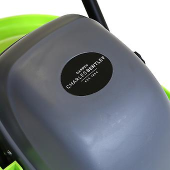 Charles Bentley Electric Hover Lawn Mower Grass Cutter 1000W 28cm Cutting Blade