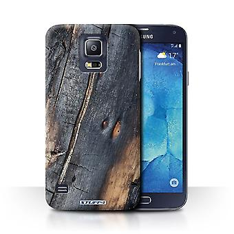 STUFF4 Case/Cover for Samsung Galaxy S5 Neo/G903/Burnt Wood/Tree Bark
