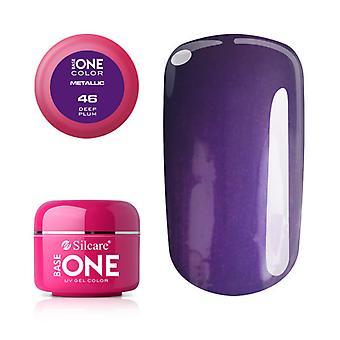 Base one Metallic-Deep plum 5 g UV-gel
