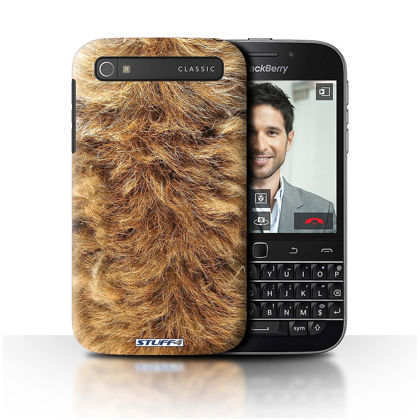 STUFF4 Case/Cover for Blackberry Classic/Q20/Dog/Animal Fur Pattern