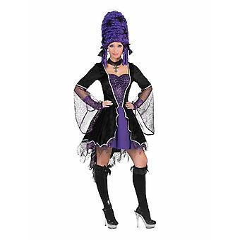 Vampire Women's Costume Halloween Dark Girl Horror Countess Costume Women's Vampire Dress