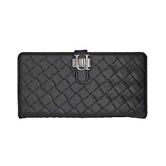 iPhone 6/6s - 4.7 Inch Luxe Exotic Slider Folio Wallet Weave Black