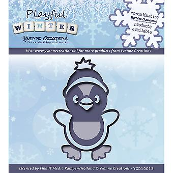 Find It Trading Yvonne Creations Playful Winter Die-Penguin YCD10013