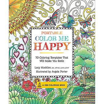 Race Point Publishing Books-Portable Color Me Happy RPP-61851