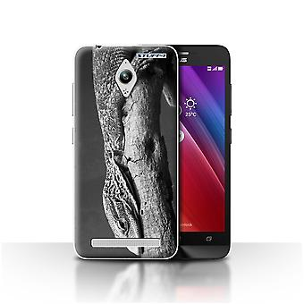 STUFF4 Case/Cover for Asus Zenfone Go ZC500TG/Lizard/Mono Zoo Animals