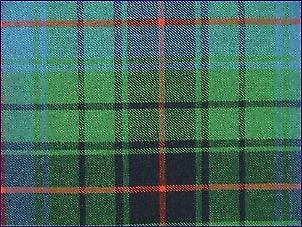 Davidson, Antique - Pure tartan de laine