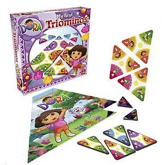 Goliath Dora triominoes (Toys , Boardgames , Strategic)