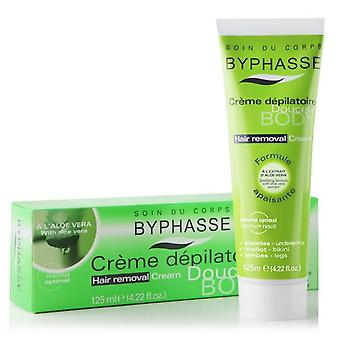 Byphasse Hair Removal Cream 125ml Aloe Vera Extract