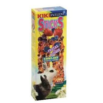 Kiki Lapins Forest Fruit Snacks PK2 (Petits animaux , Snacks)